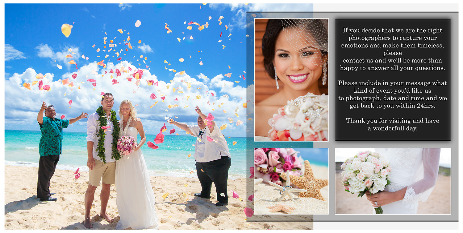 Oahu Wedding Family Photographers