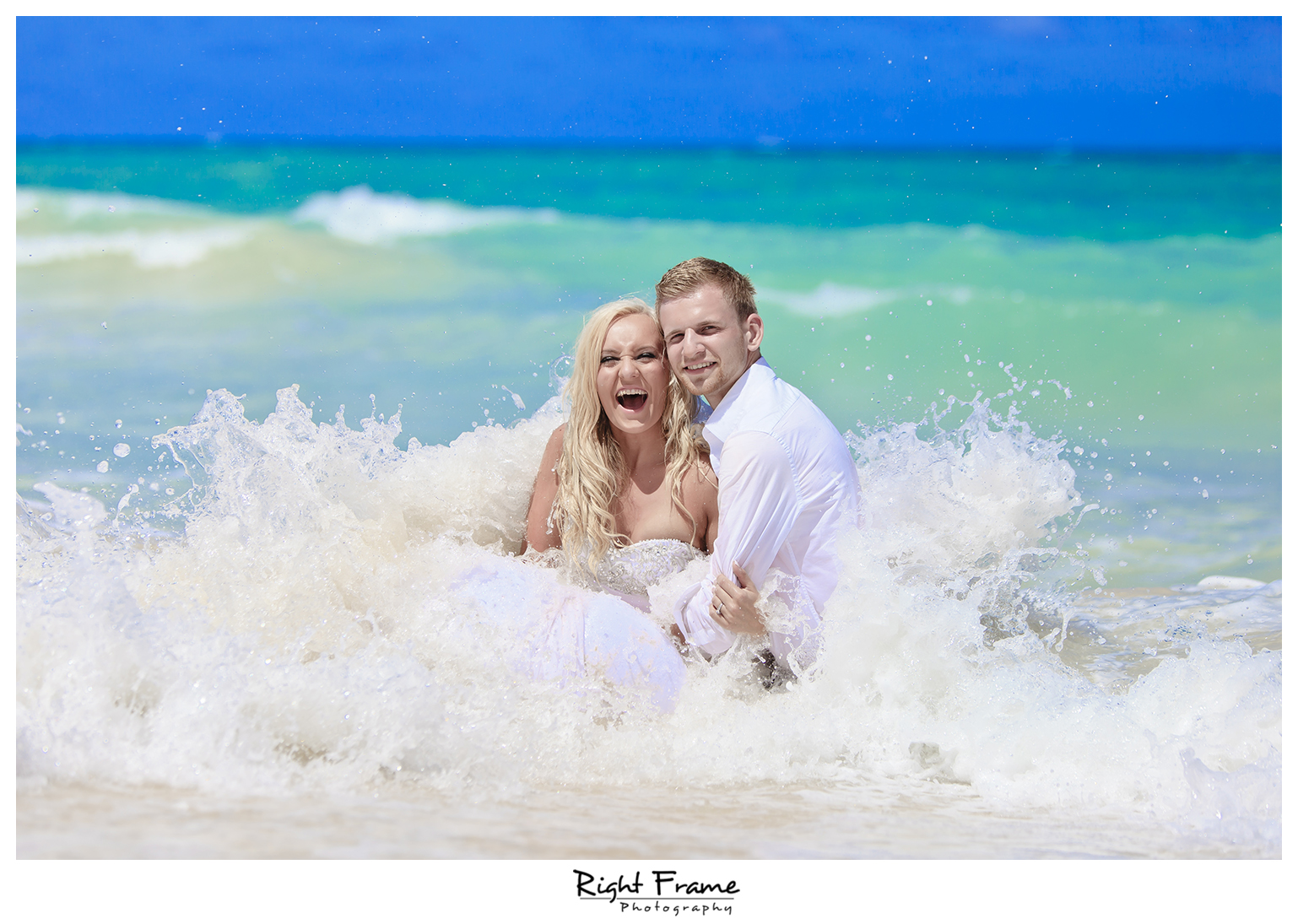 Trash The Dress | Right Frame