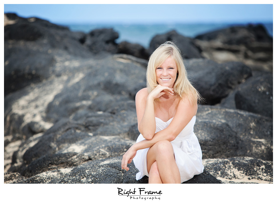 Beach Wedding Ceremony Oahu: Lauren By RIGHT FRAME PHOTOGRAPHY