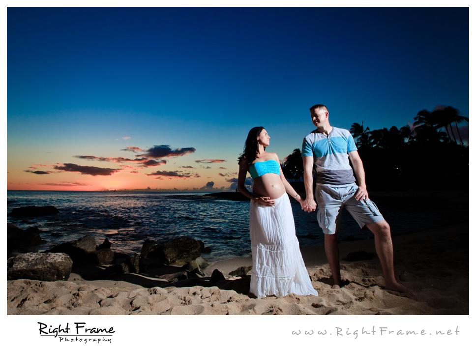 014_Oahu_Maternity_Photography_Koolina_Secret_Beach