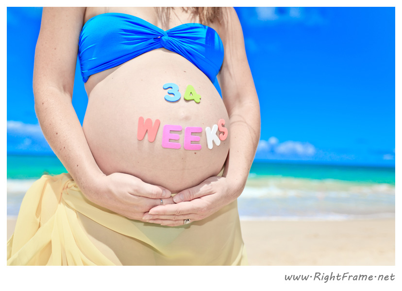 033_Oahu_pregnancy_Photography_waimanalo_Beach