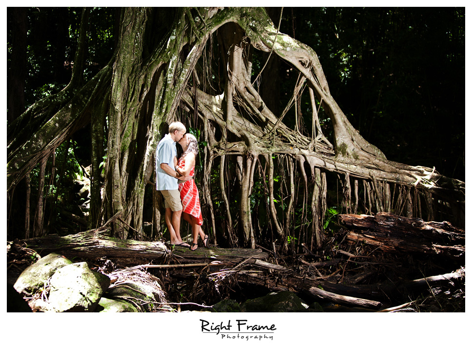Beach Wedding Ceremony Oahu: Oahu Engagement Photography