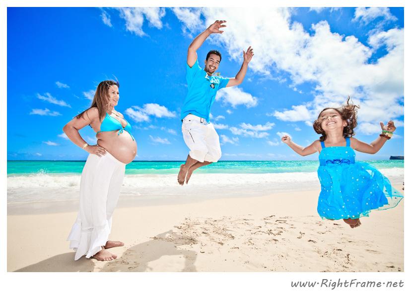043_Oahu_maternity_Photography_waimanalo_Beach