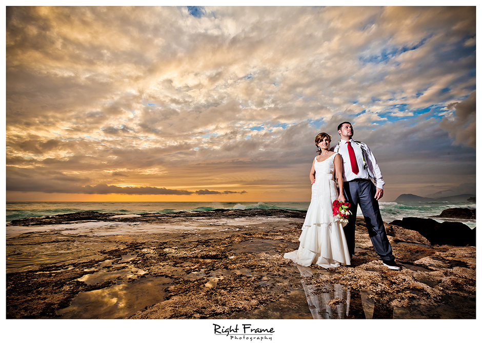 001 oahu wedding photographers oahu sunset wedding