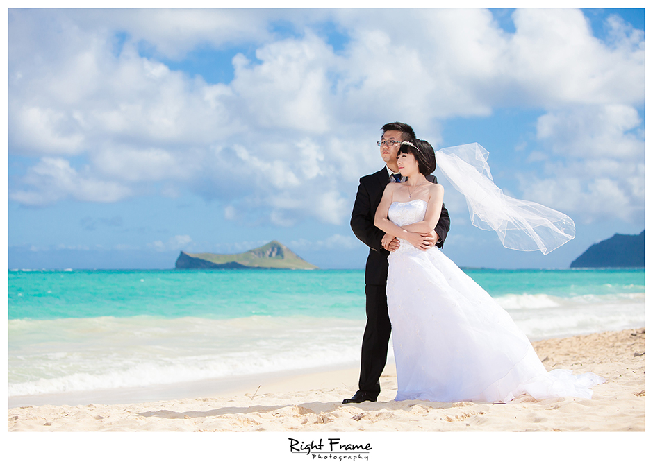 Oahu Wedding Photographers | Jinyan by Right Frame