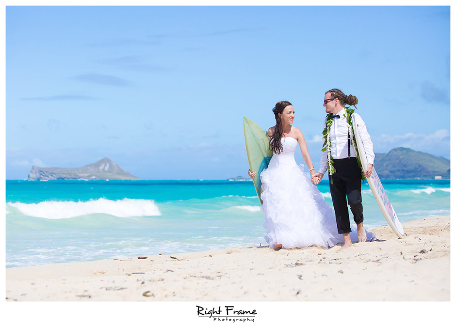 Beach Wedding Ceremony Oahu: Wedding Photographers In Oahu Hawaii