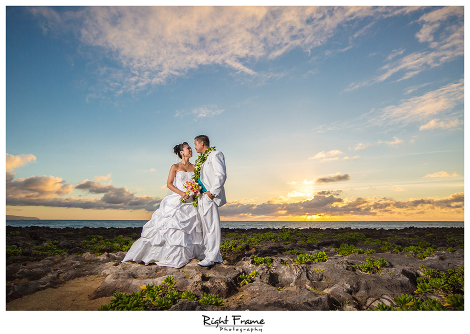 wedding at turtle bay resort