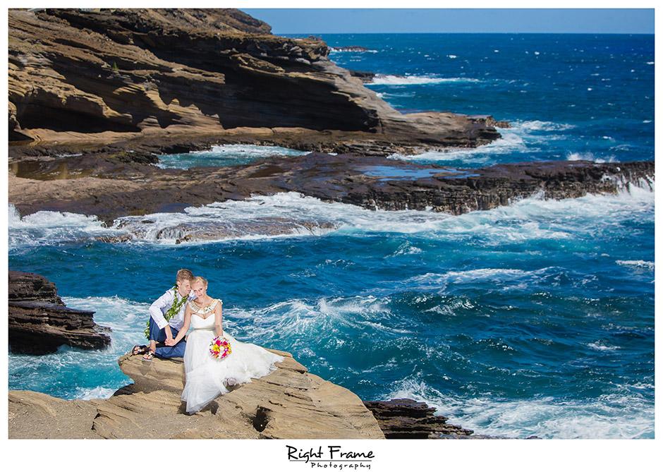 slub na hawajach