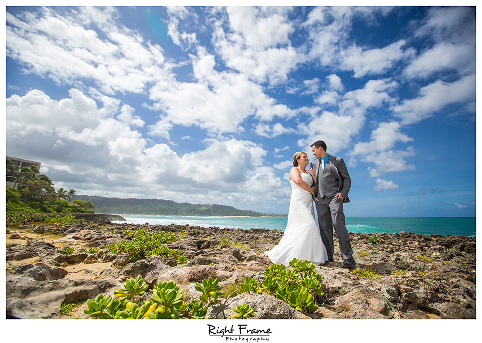wedding photography in oahu hawaii turtle bay