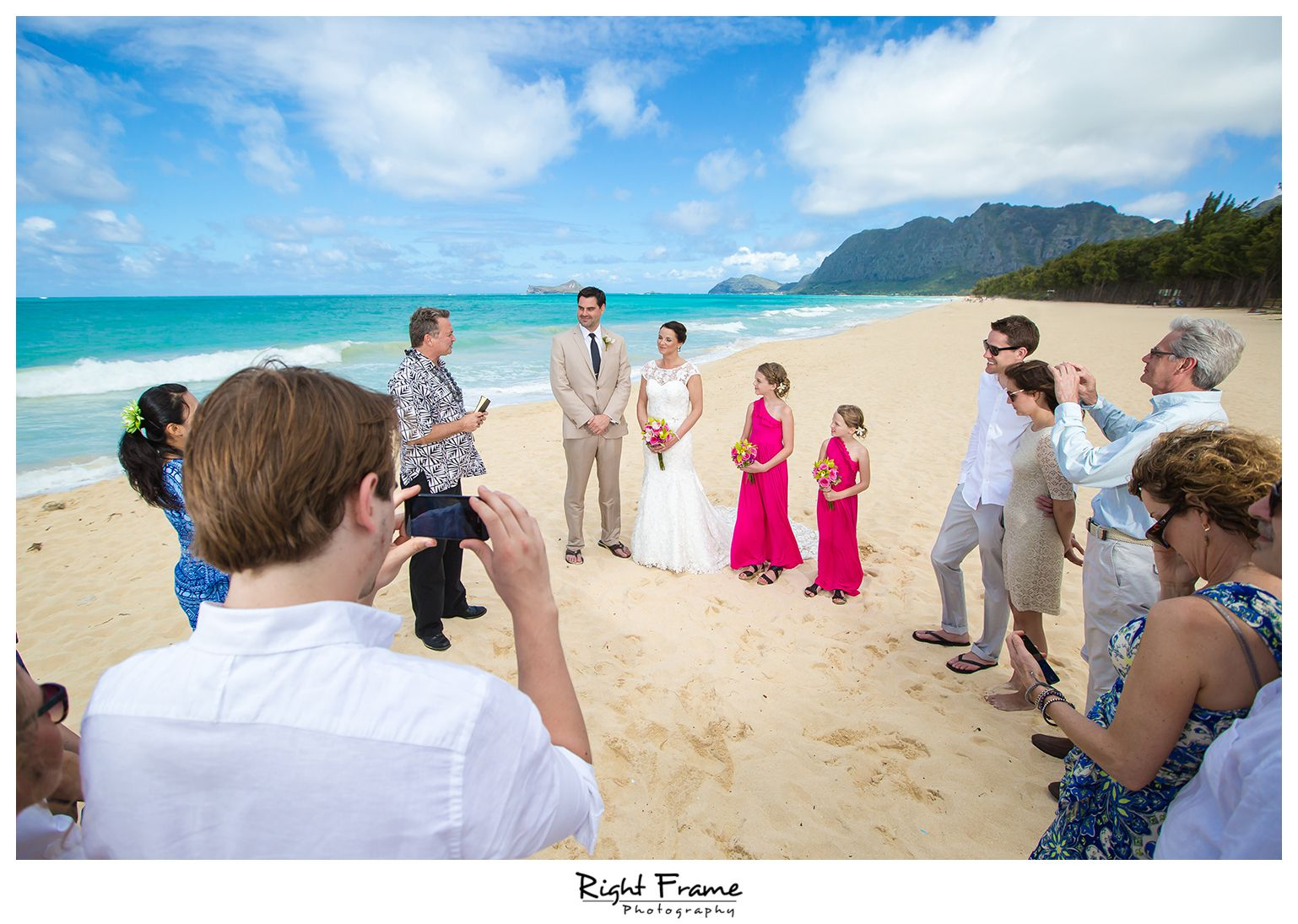 001_Oahu Beach Wedding waimanalo beach