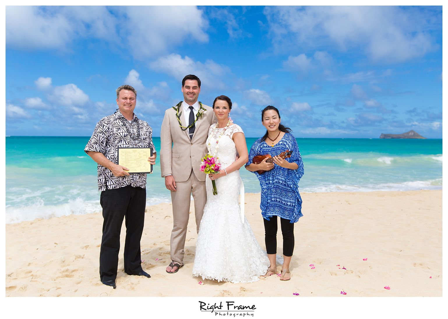 014_Oahu Beach Wedding waimanalo beach