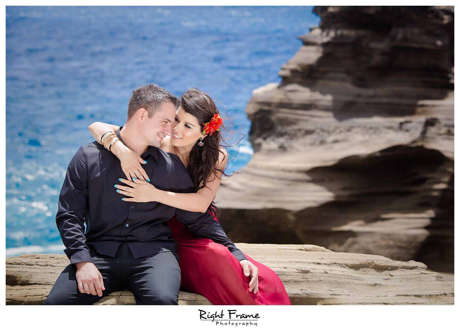 129_Oahu Engagement Photographer