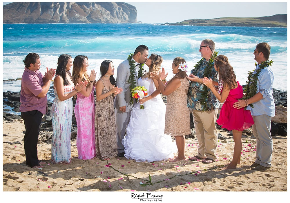 Makapuu Beach Wedding