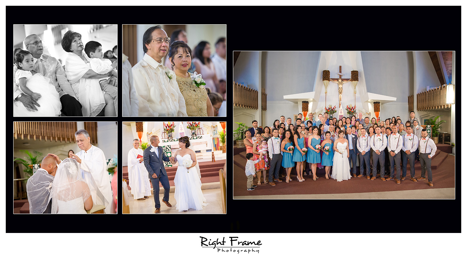 Wedding at St. Augustine Church Waikiki
