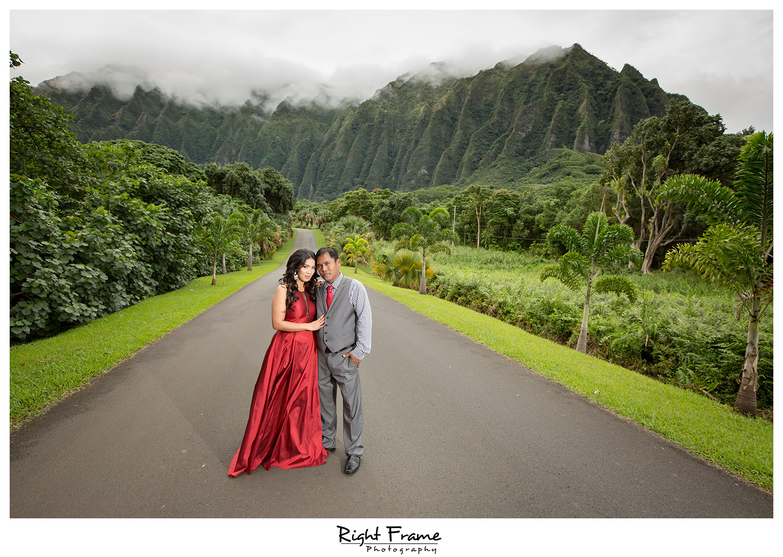 Honolulu Family Photographer Hoomaluhia Botanical Garden