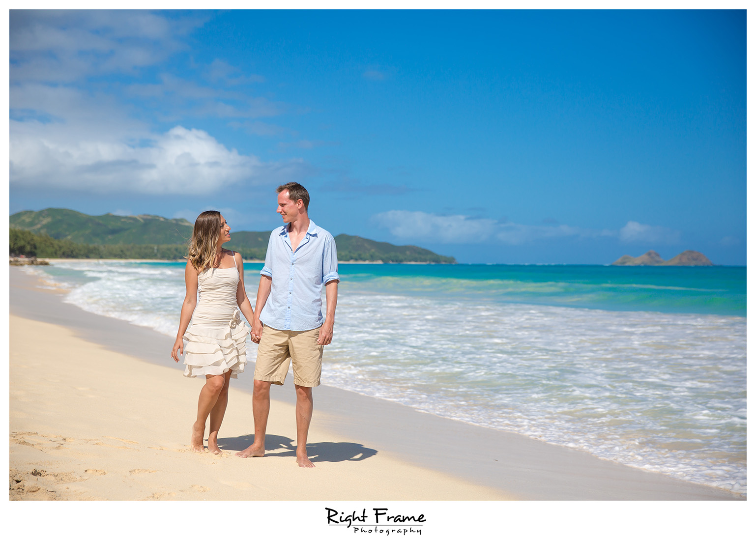 Beach Wedding Ceremony Oahu: North Shore Oahu Wedding Photographer By RIGHT FRAME