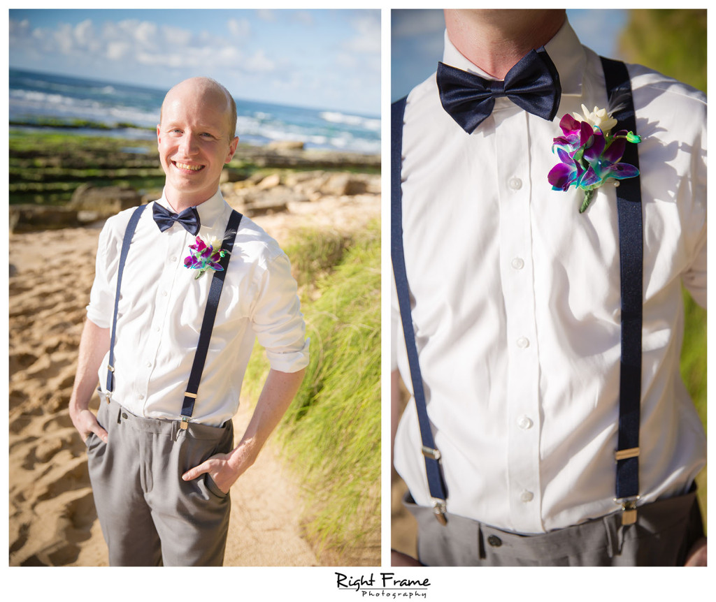 Papailoa Beach Wedding On North S Oahu Hawaii