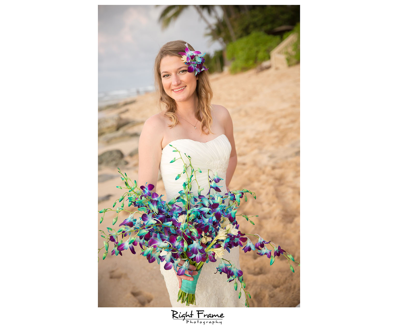 Papailoa Beach Wedding on North Shore Oahu Hawaii