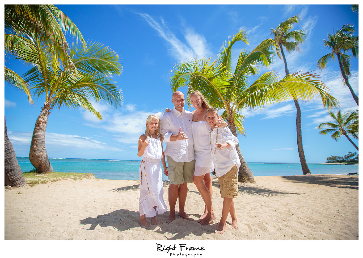 Kahala Beach Waialae Beach Park Wedding Family