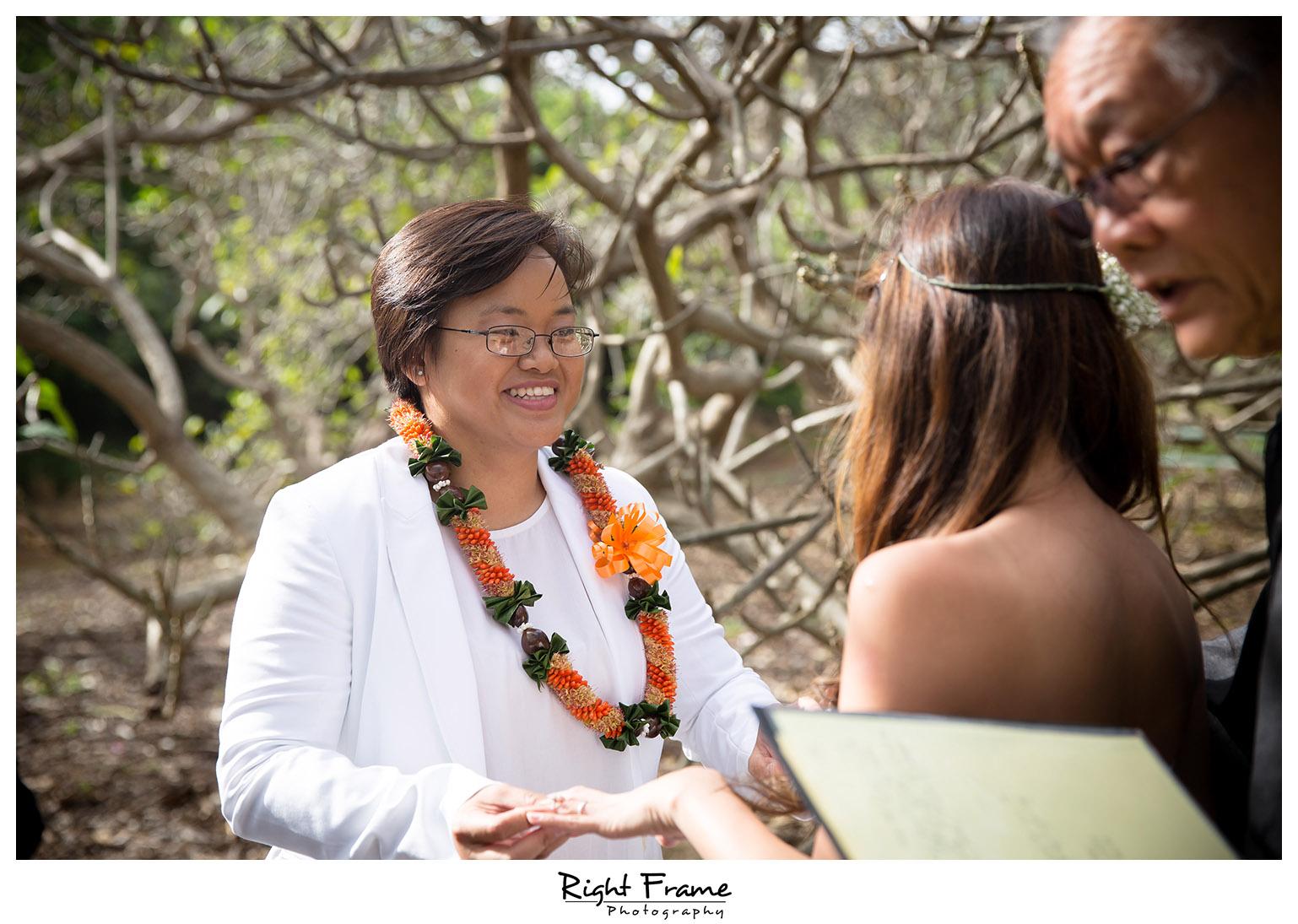 Koko Head Botanical Garden Wedding The Willows Restaurant