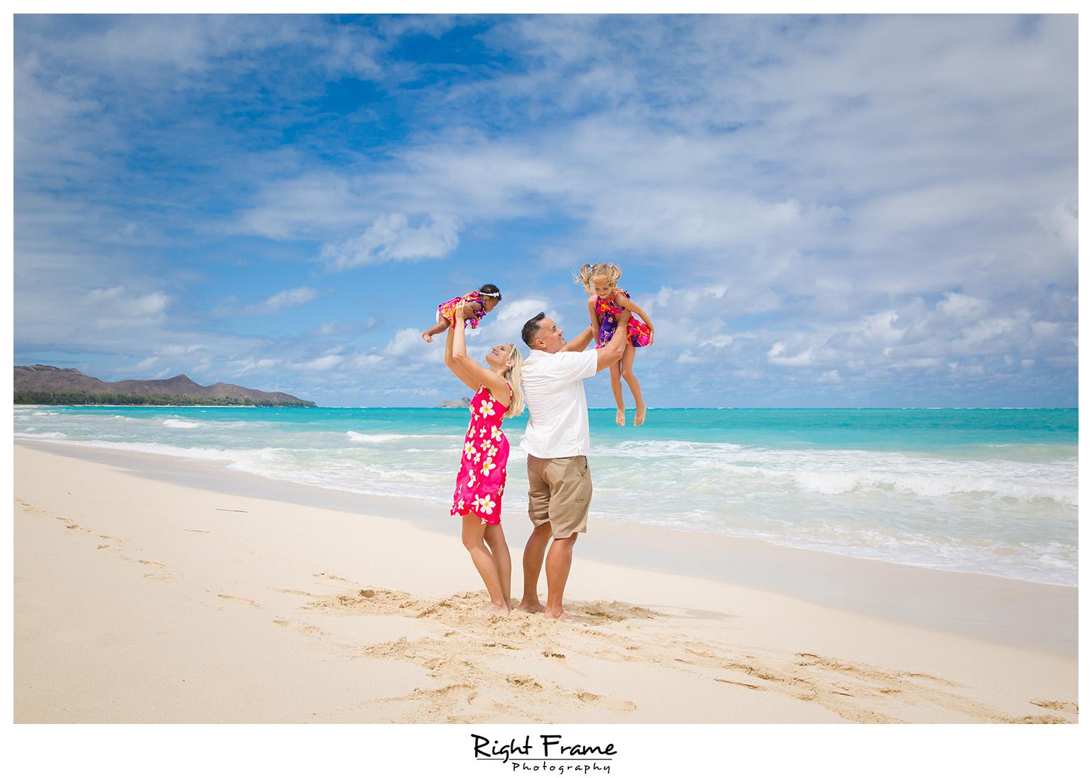 Family Portraits Oahu Waimanalo Beach
