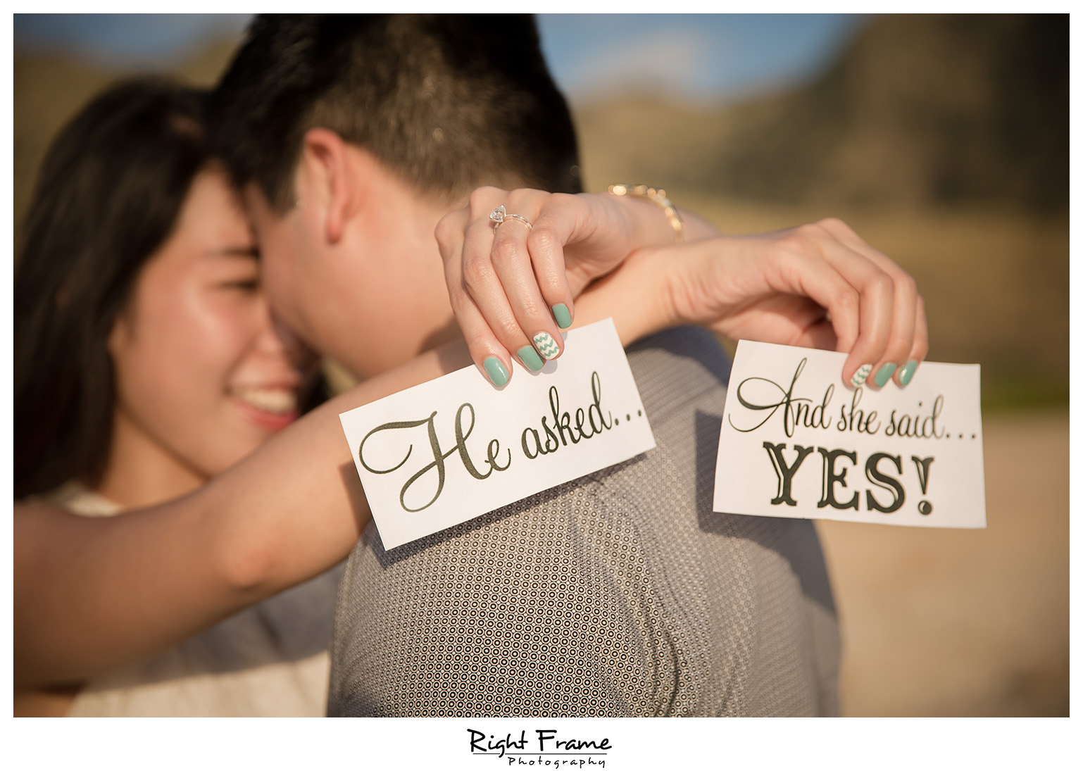 Romantic surprise hawaii engagement proposal by right frame for Surprise engagement photo shoot