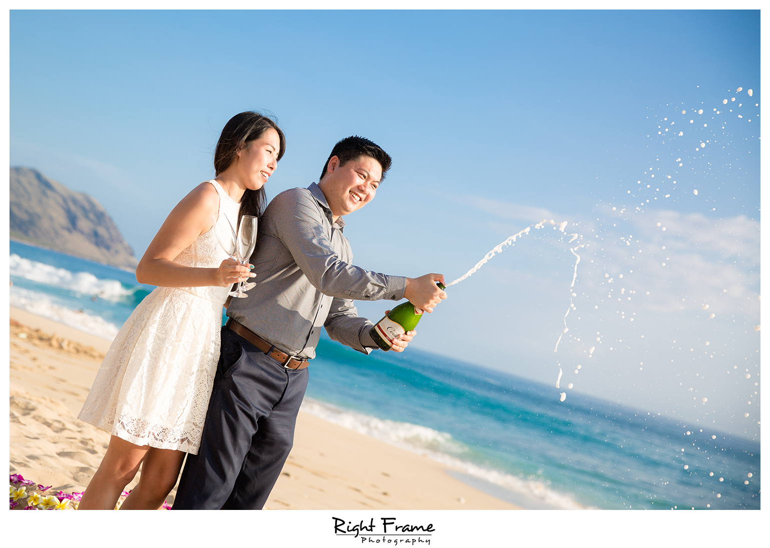 Romantic Surprise Hawaii Engagement Proposal