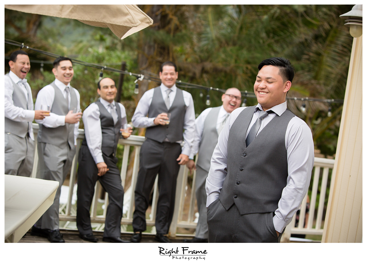 Wedding at Nani Kai Hale Beach House Oahu Hawaii