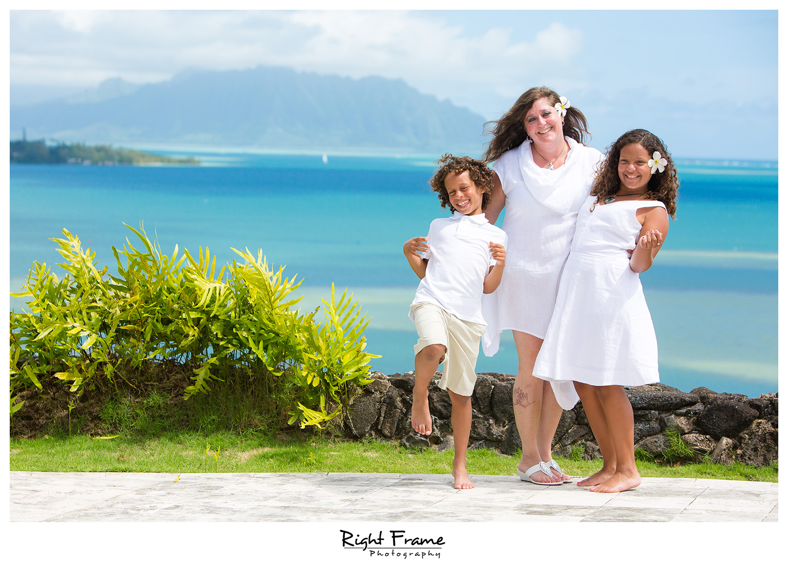 Kailua Ocean View Estate Family Photography