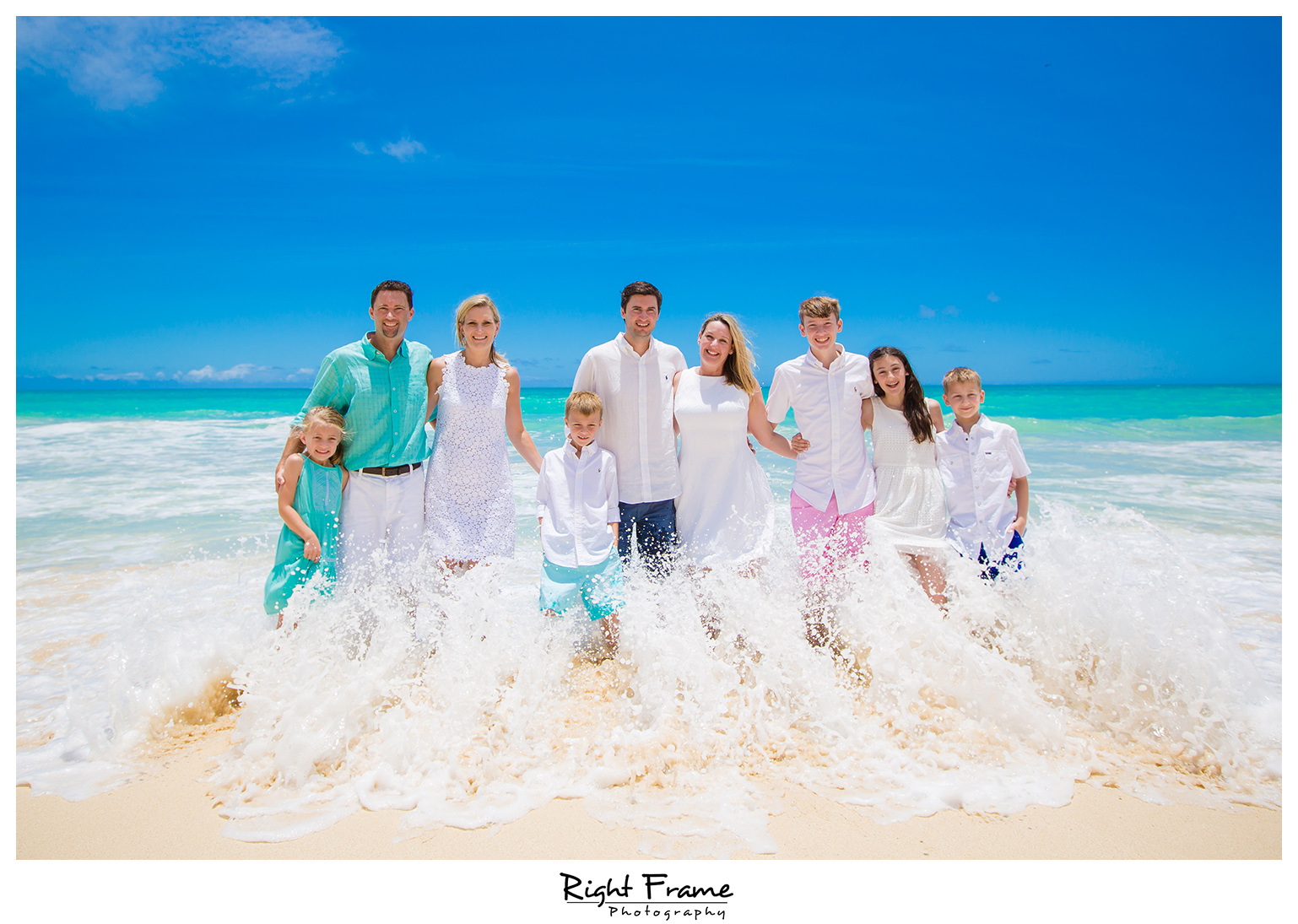 The Best Family Beach Portraits in Hawaii