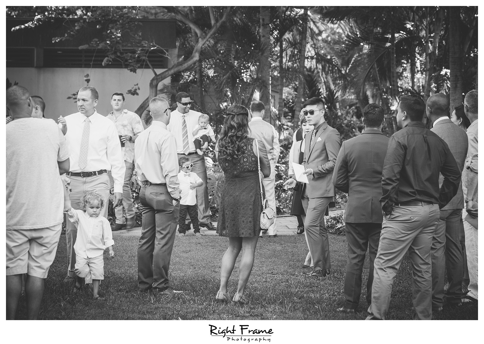 Wedding in Hale Koa Hotel Maile Garden