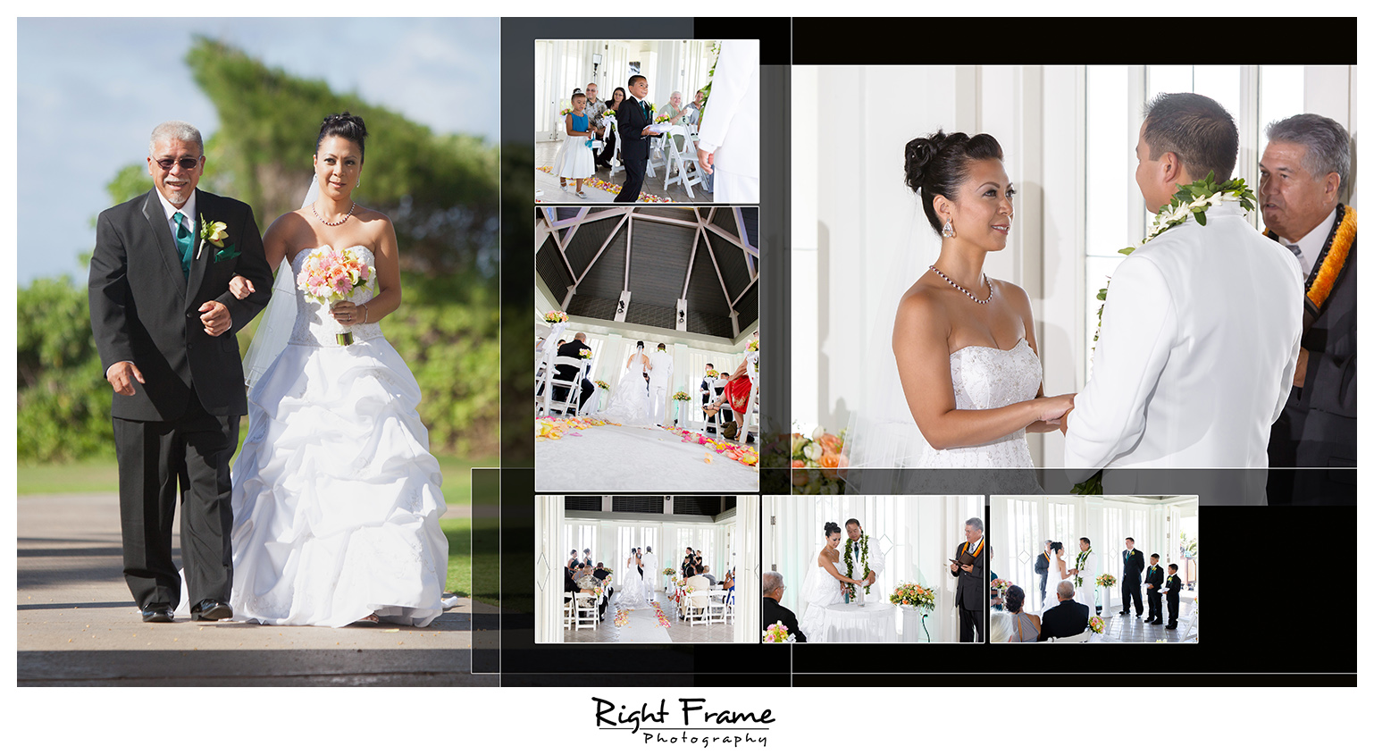 Sunset Wedding in Turtle Bay Resort