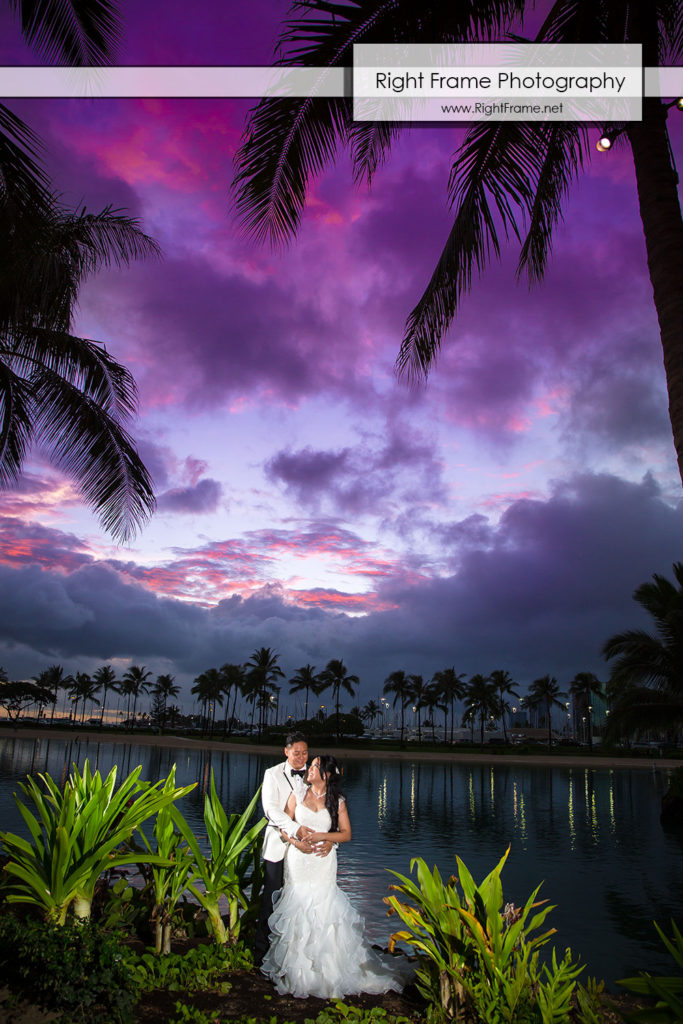 Hawaii Wedding at Hilton Hawaiian Village