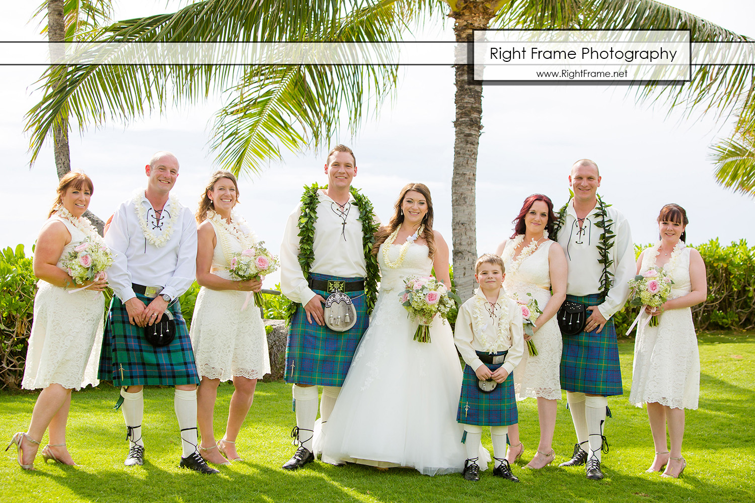 Destination Wedding in Hawaii Paradise Cove
