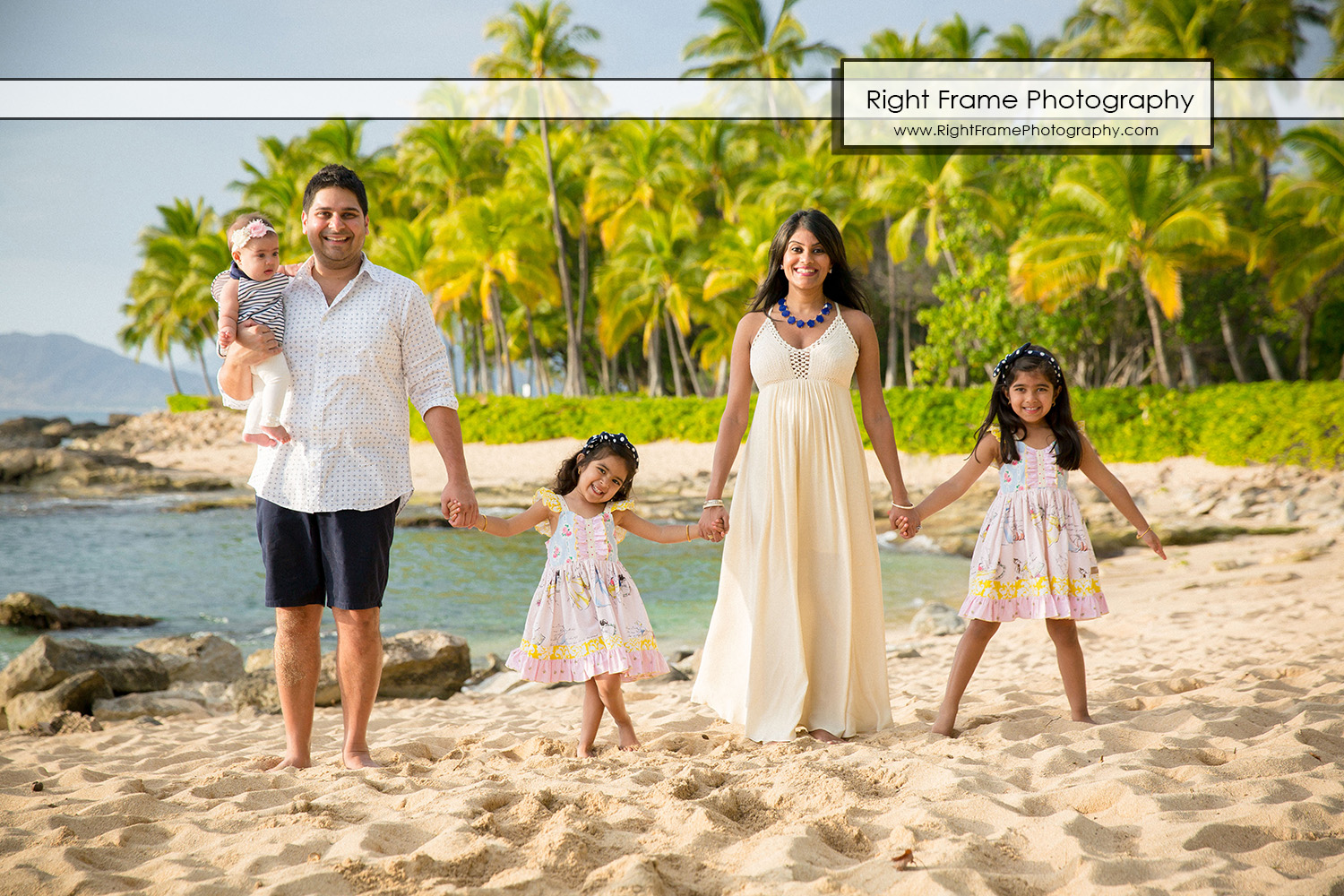 Family Photographer In Ko Olina Oahu Hawaii By Right Frame