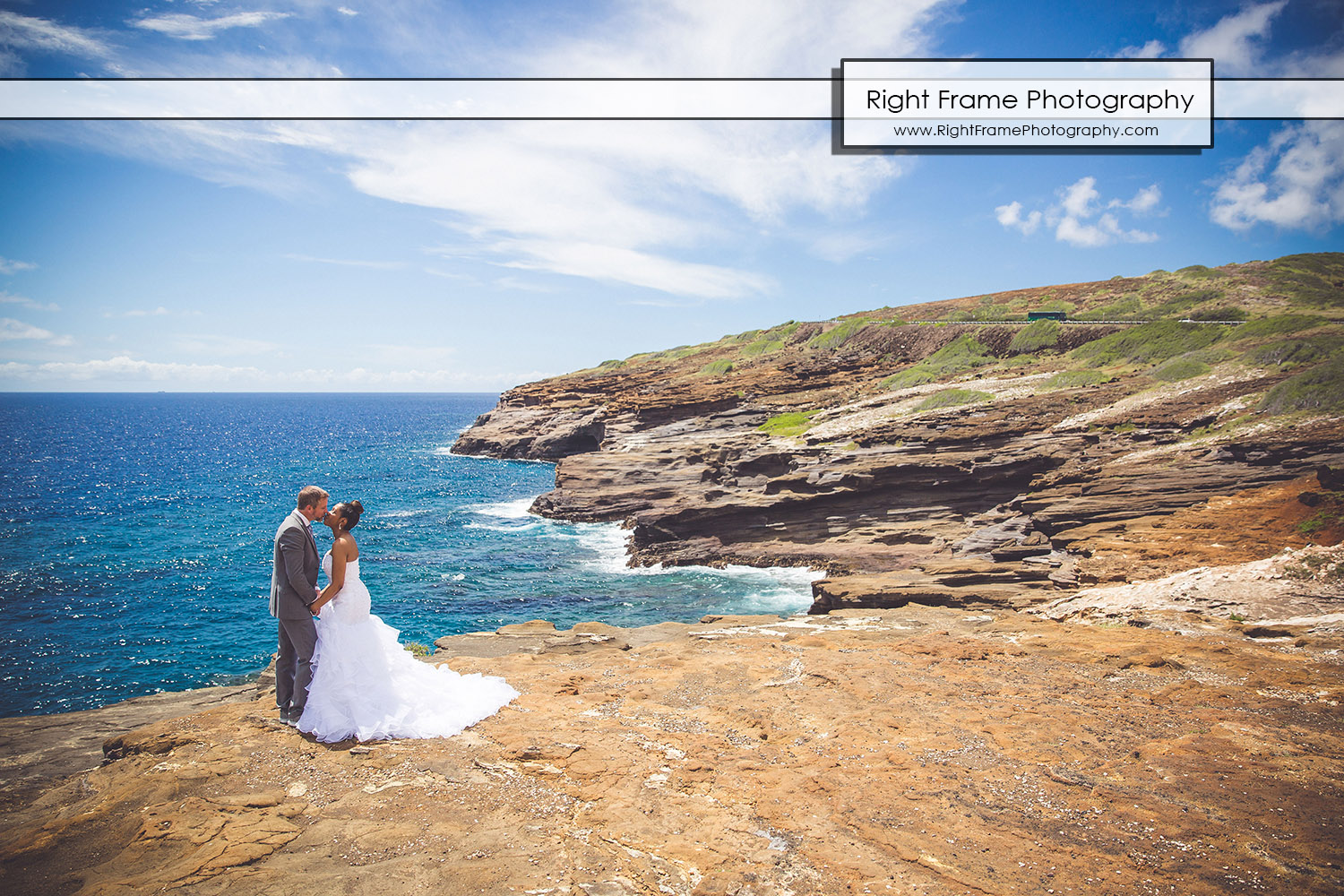 Heavens Point Hawaii Wedding Photography