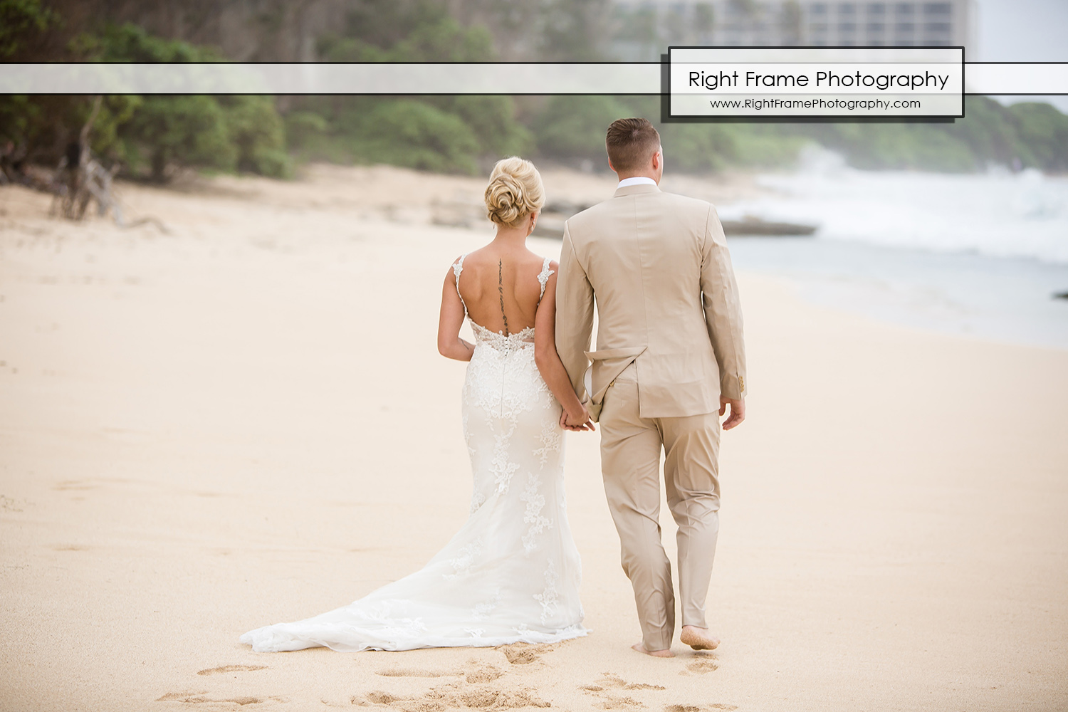 Turtle Bay Resort Hawaii Beach Wedding