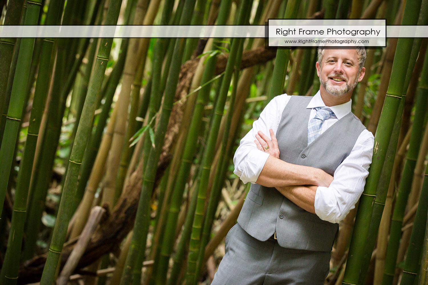 Hawaii Bamboo Forest Wedding Pictures