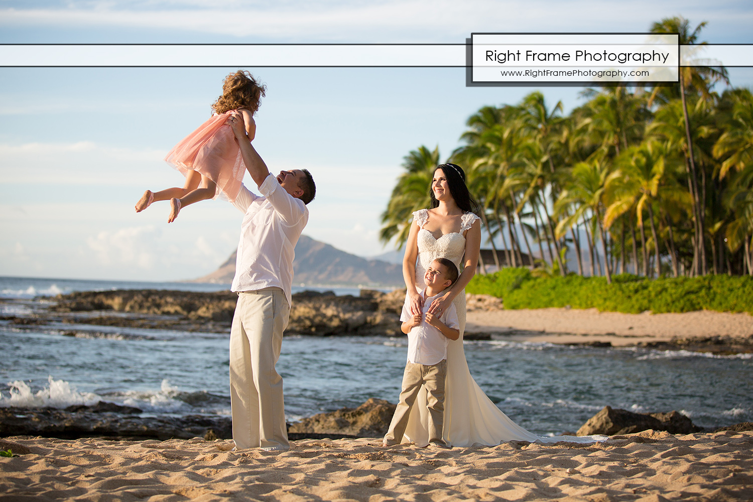 Family Photographer Four Seasons Resort Oahu By Right Frame Photography