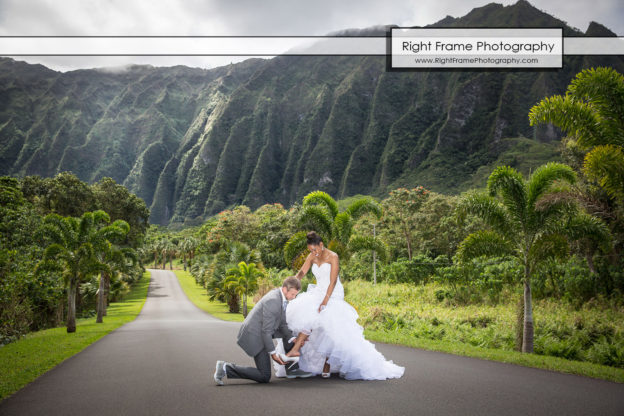 Ho Omaluhia Botanical Garden Wedding By Right Frame Photography