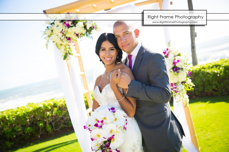 Beautiful Paradise Cove Wedding Ko Olina Hawaii