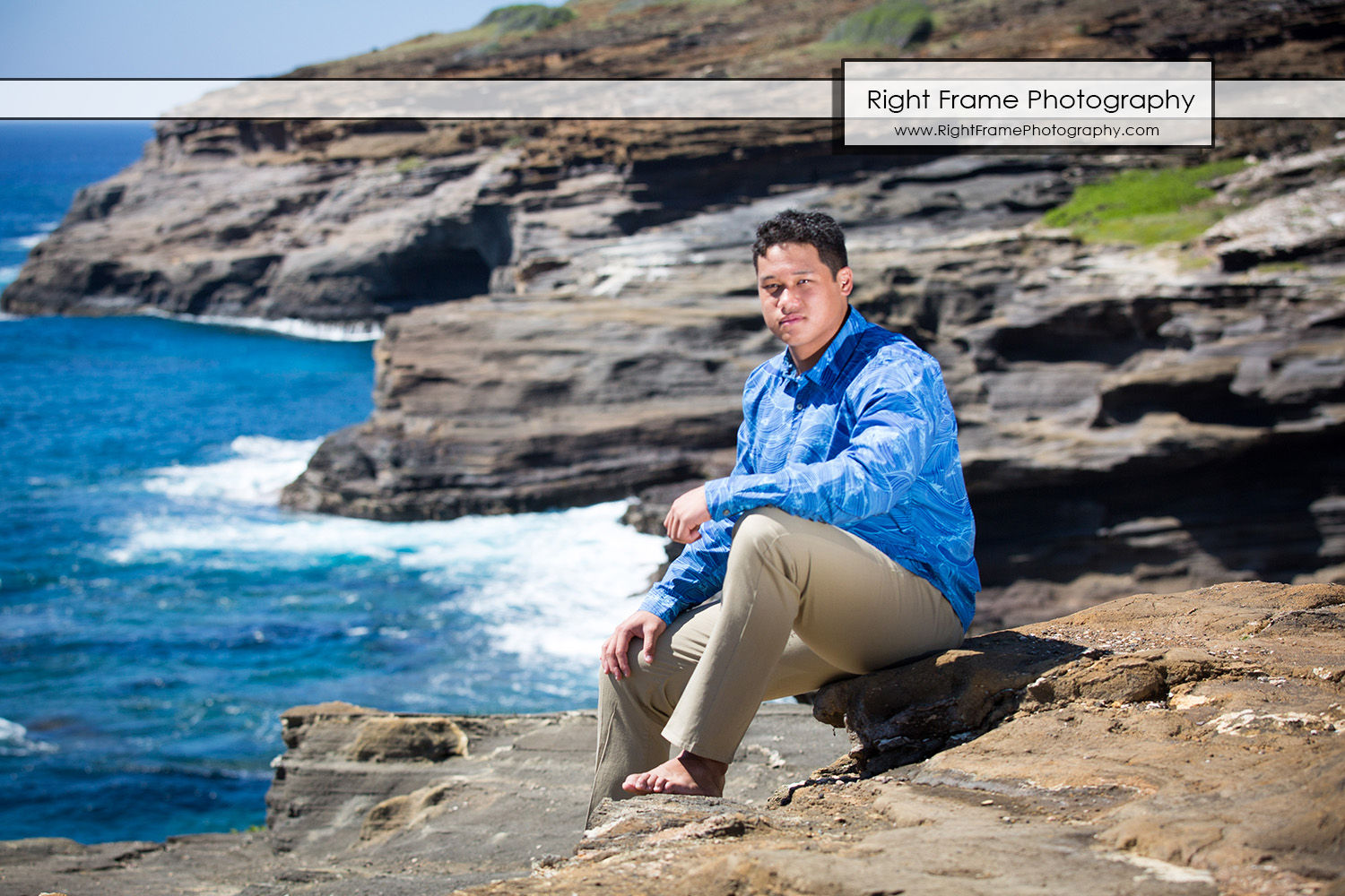 HAWAII SENIOR PICTURES Lanai Lookout