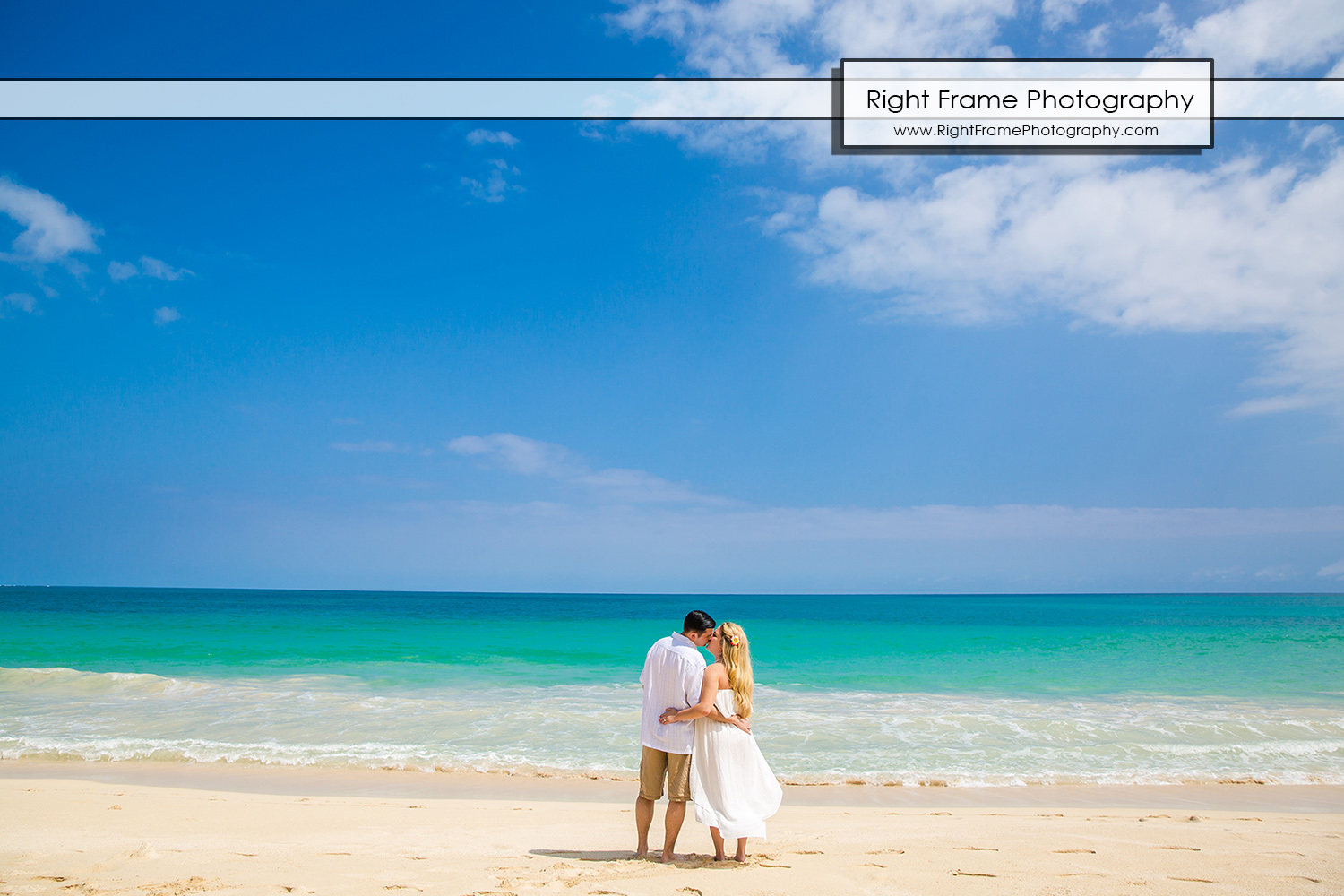 Hawaii Engagement Pictures at Waimanalo Beach