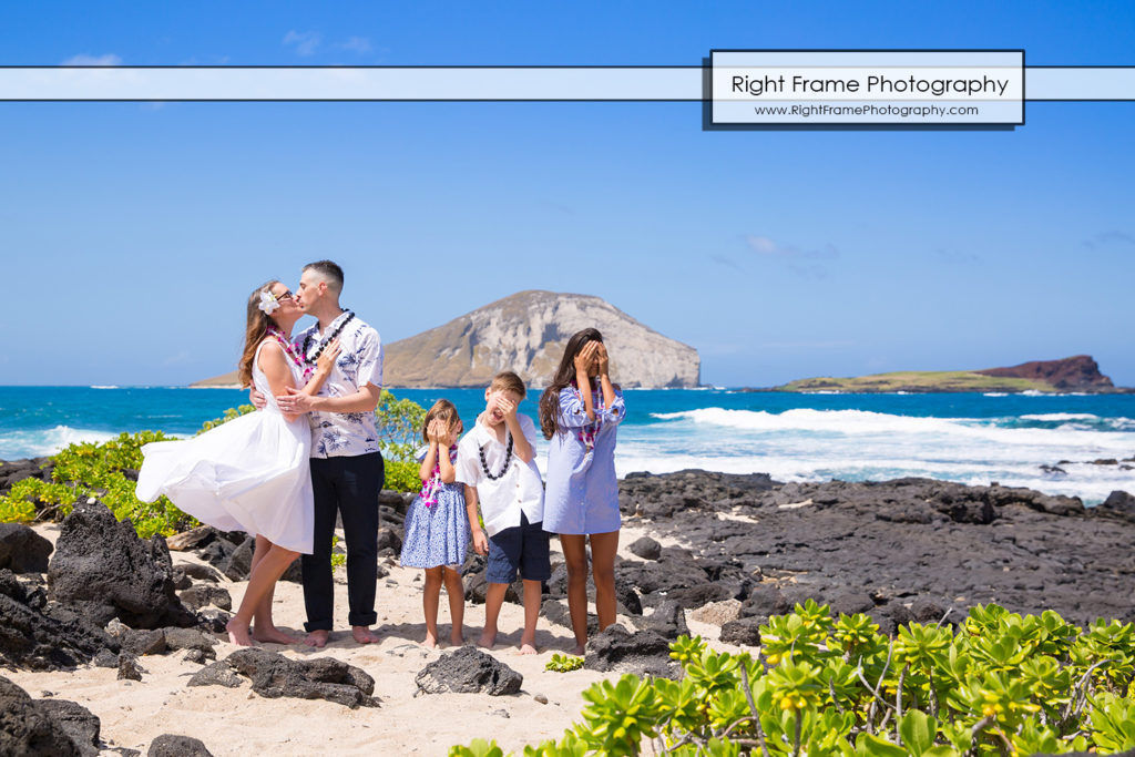 Family Vacation Portraits at Makapuu Beach HI by Right Frame