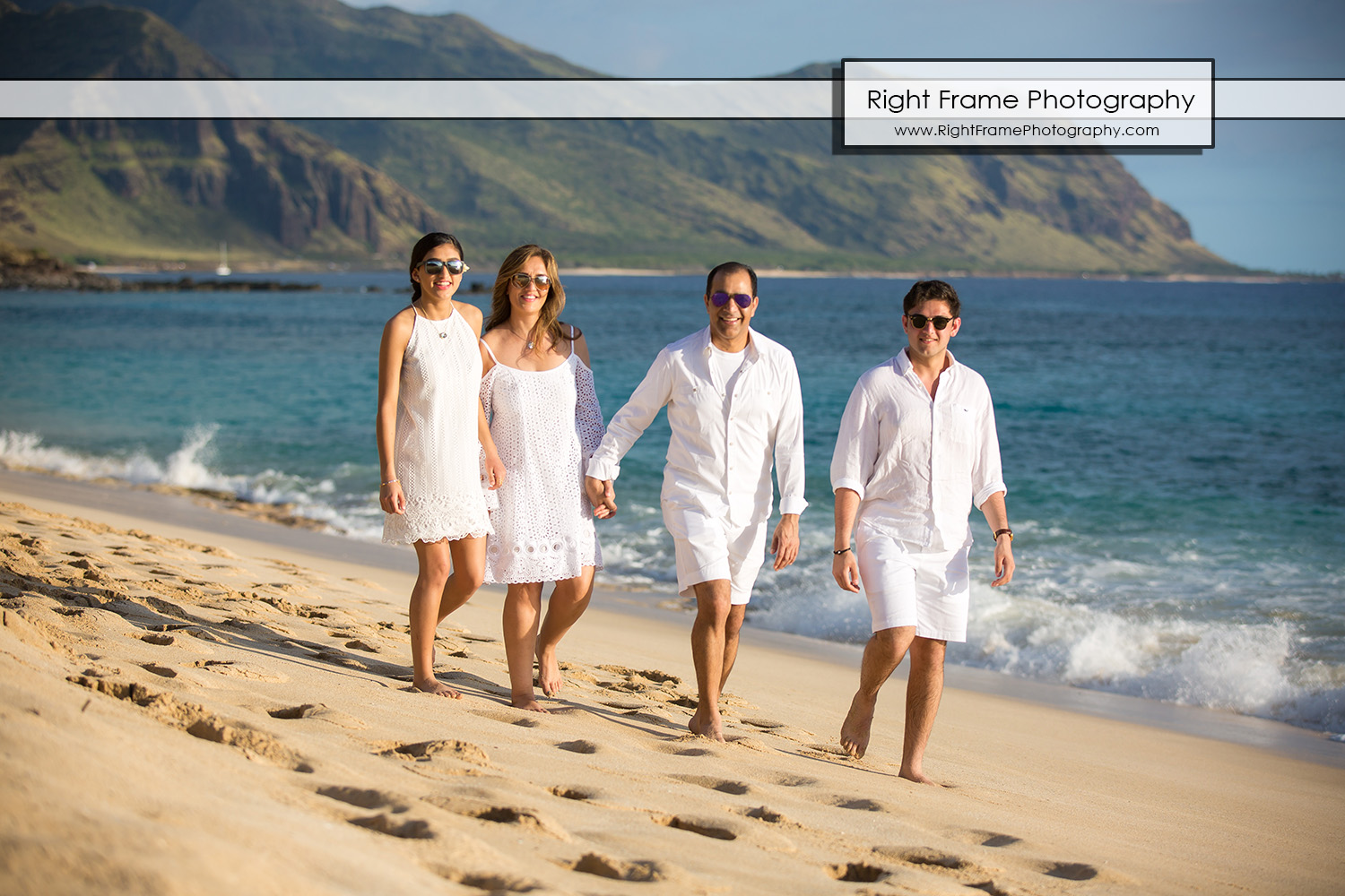 Professional Family Portrait in Hawaii Oahu