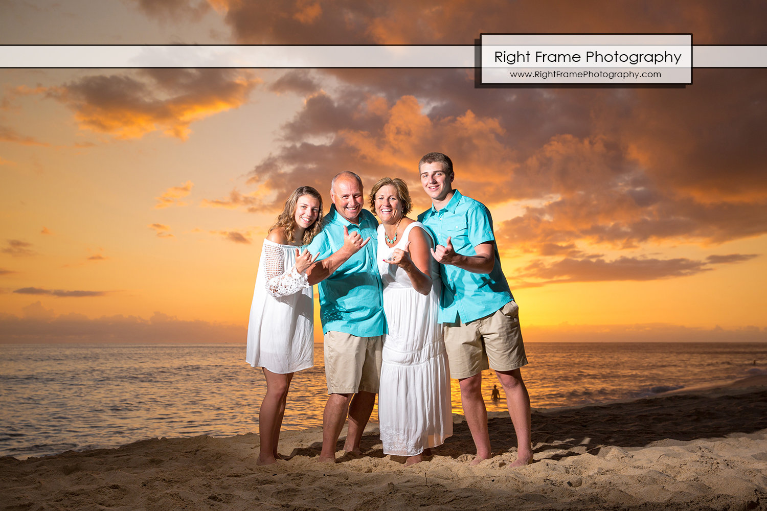 Hawaii Beach Sunset Portraits near Ko Olina Lagoons