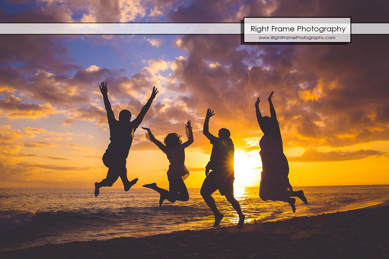 Hawaii Beach Sunset Portraits near Ko Olina Lagoons