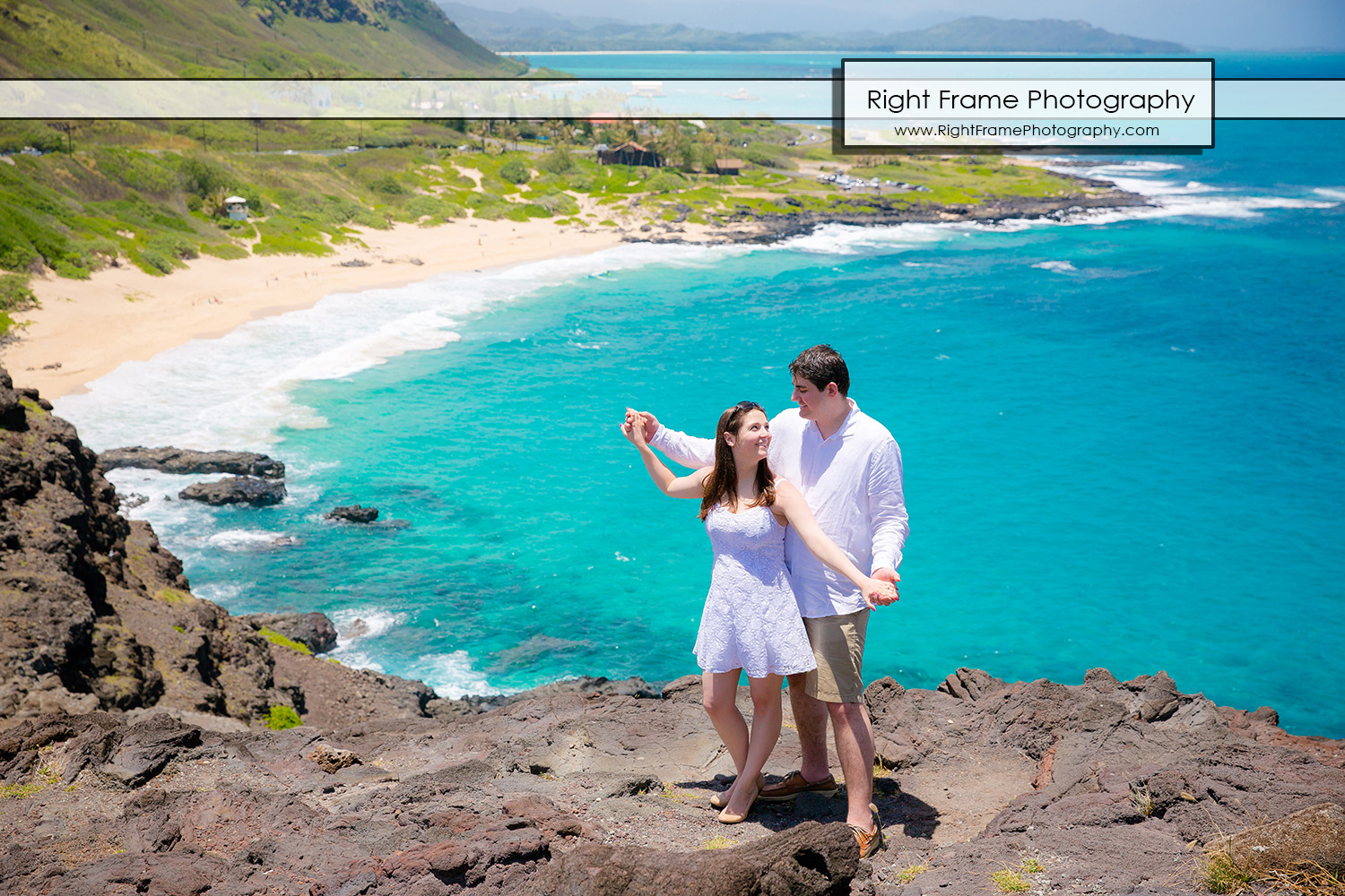 Surprise Marriage Proposal Makapu'u Lookout Oahu