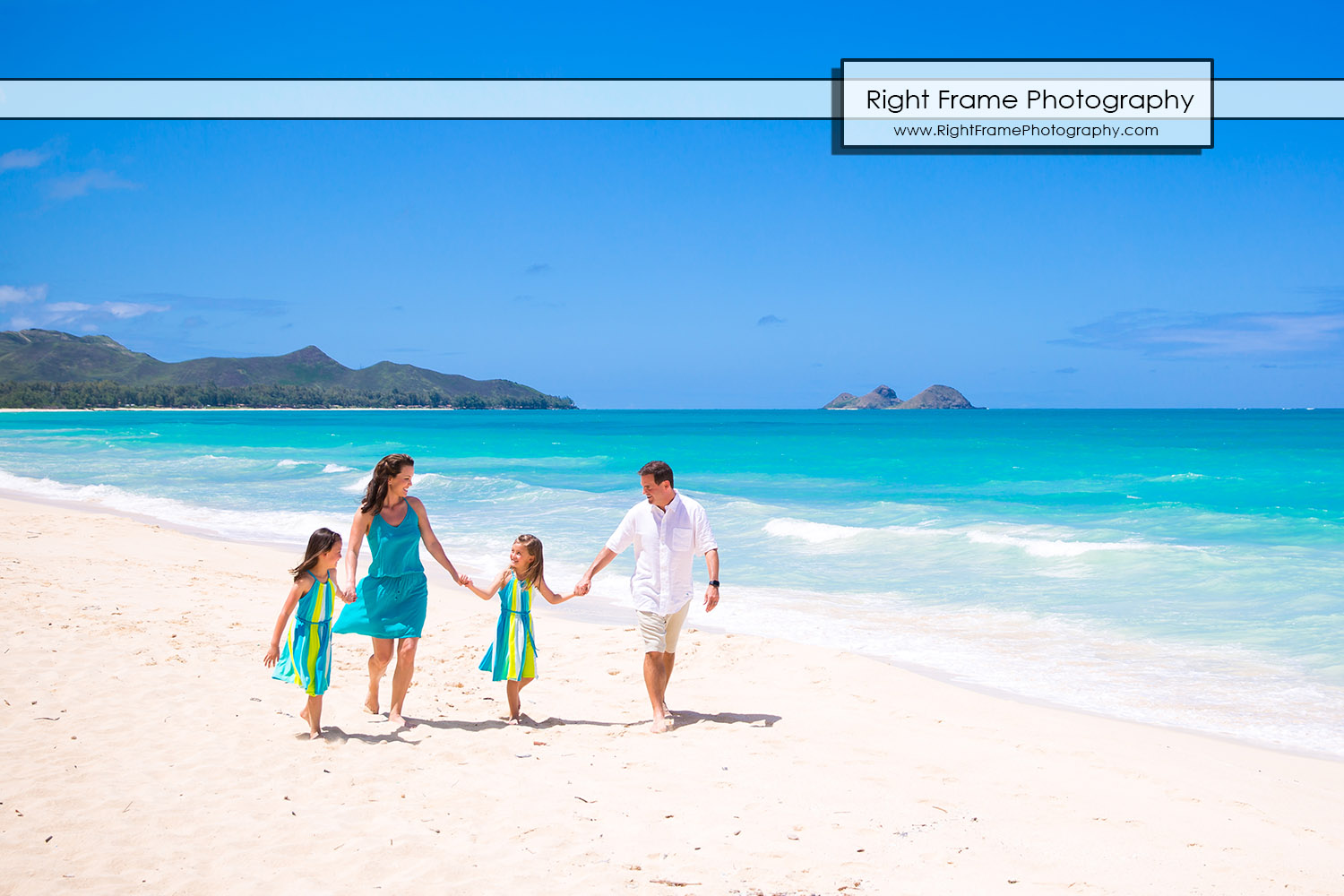 Family Beach Portraits Oahu Waimanalo Beach