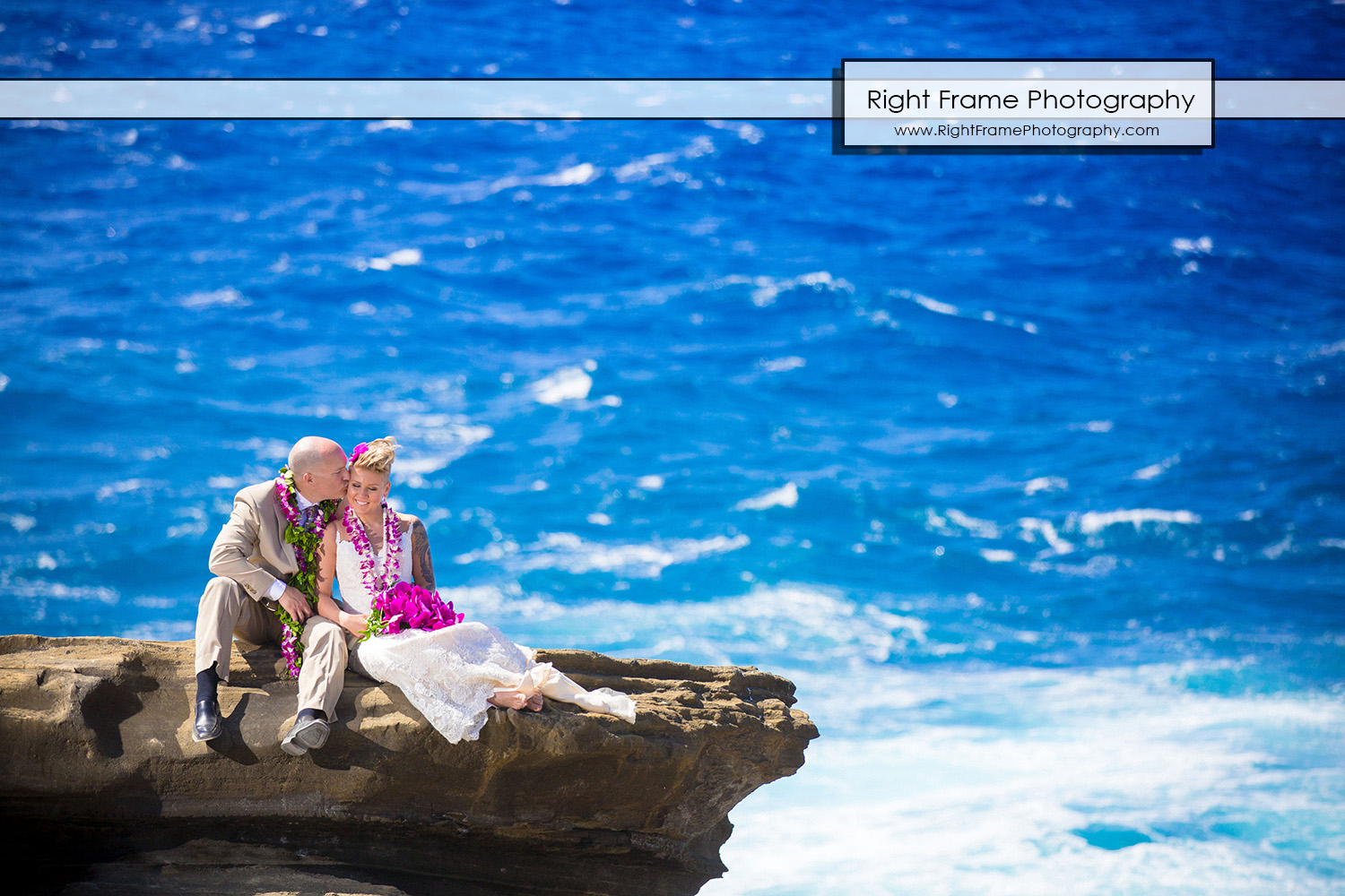 Beautiful Wedding at Heaven's Point Hawaii